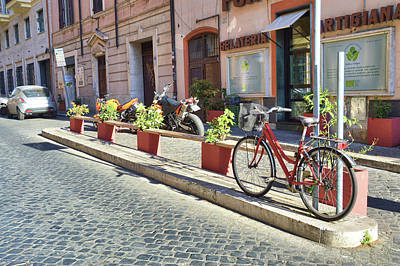Photograph - Trastevere by JAMART Photography