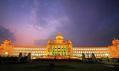 India Photograph - Travel Diary Pages Vidhan Soudha by Colors Of India By © Pankaj Zarekar