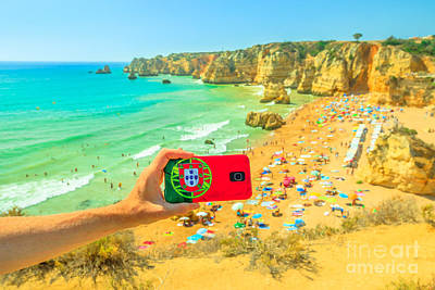 Photograph - Travel In Algarve by Benny Marty