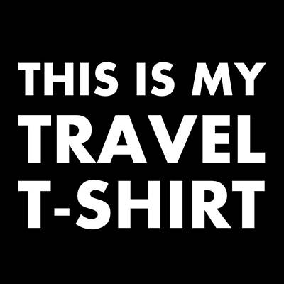 Digital Art - Travel Tee 1 by Richard Reeve