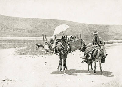 Photograph - Traveling In Galilee 1894 by Munir Alawi