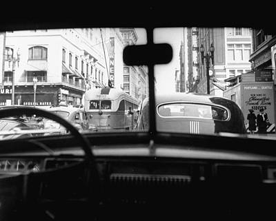 Photograph - Traveling Through Rush Hour Traffic In D by Loomis Dean