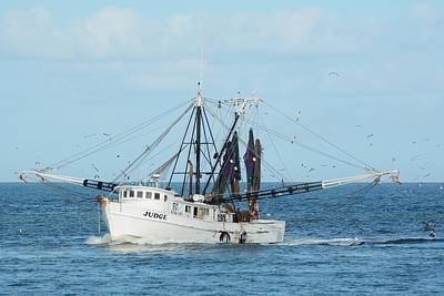 Photograph - Trawler Judge by Bradford Martin