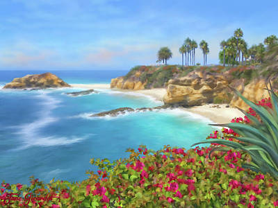 Painting - Treasure Island Beach 2 by Jane Girardot