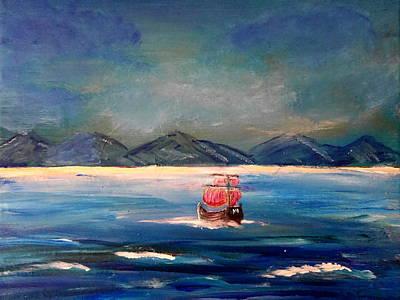 Painting - Treasure Island by Bernd Hau