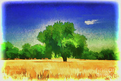 Painting - Tree A18-93 by Ray Shrewsberry