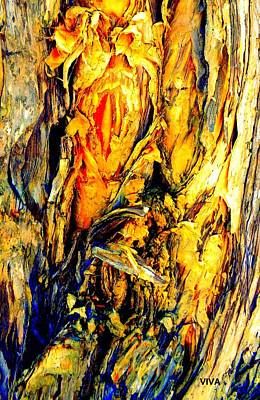 Photograph - Tree Bark 2 by VIVA Anderson