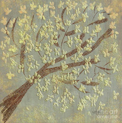 Digital Art - Tree Blossoms by Lois Bryan