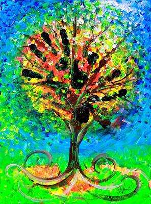 Painting - Tree Of Faith by J Vincent Scarpace