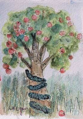 Painting - Tree Of Knowledge by Laurie Morgan