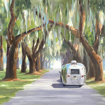 Painting - Tree Tunnel by Elizabeth Jose