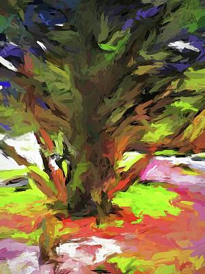 Painting - Tree With The Open Arms by Jackie VanO