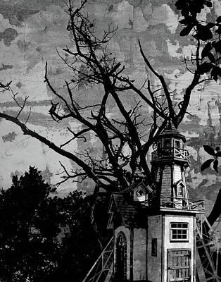 Digital Art - Treehouse I by Jason Casteel