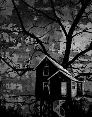 Digital Art - Treehouse II by Jason Casteel