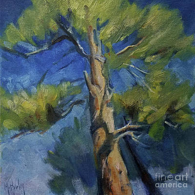 Painting - Treetop by Mary Hubley