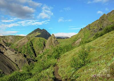 Mannequin Dresses - Trekking in Thorsmork Nature Reserve, Iceland, by Jekaterina Sahmanova