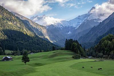 Photograph - Trettachtal, Allgaeu by Andreas Levi