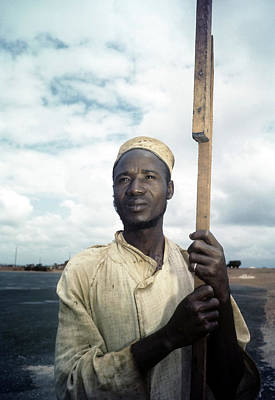 Photograph - Tribesmen In Ghana by Michael Ochs Archives