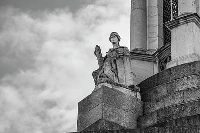 Photograph - Trinity College Dubline Statue 1 by John McGraw