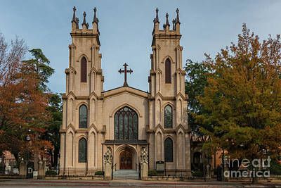 Photograph - Trinity Episcopal Church by Dale Powell