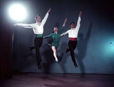 Photograph - Triple Jump by Joseph Mckeown