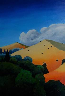Windy Hill Painting - Tripping 1 by Gary Coleman