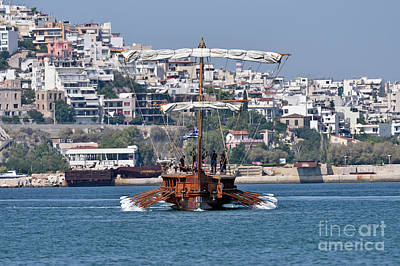 Photograph - Trireme Olympias by George Atsametakis