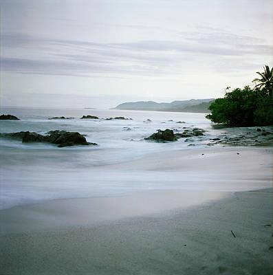 Photograph - Tropical Beach, Sunset Long Exposure by Michelle Zassenhaus