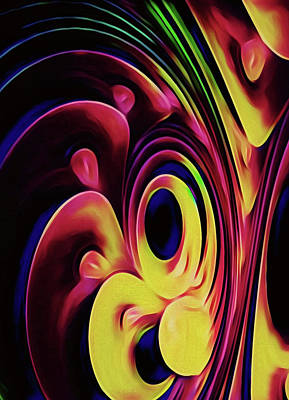 Digital Art - Tropical Drps by Locky Monsoon