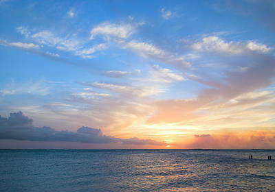 Photograph - Tropical Sunset by Chrisp0