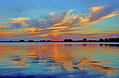 Photograph - Tropical Sunset by HH Photography of Florida