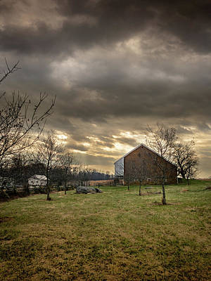 Photograph - Trostle Barn by Dan Urban