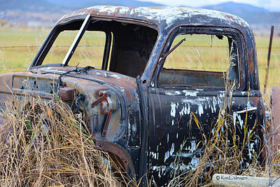 Photograph - Truck Remnant by Kae Cheatham