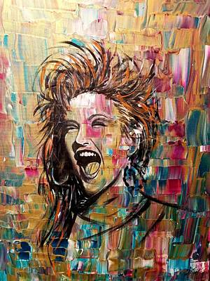 Music Paintings - True Colors by Jayime Jean