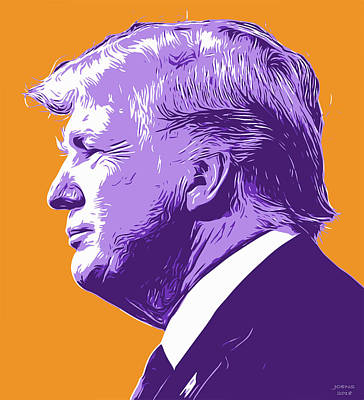 Royalty-Free and Rights-Managed Images - Trump PopArt by Greg Joens
