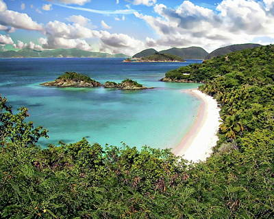 Photograph - Trunk Bay by Anthony Dezenzio