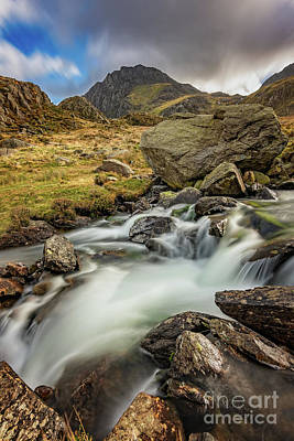 Photograph - Tryfan Mountain North Wales by Adrian Evans
