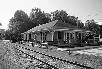 Photograph - Tryon Depot 10 B W 1 by Joseph C Hinson Photography
