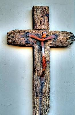 Photograph - Tubac Cross by Jerry Sodorff