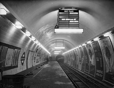 Photograph - Tube Station by Fox Photos