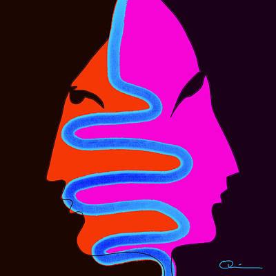 Digital Art - Tubular by Jeff Quiros