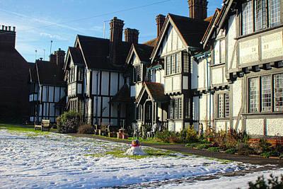 Photograph - Tudor House Art by Doc Braham