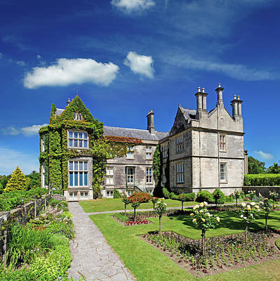 Photograph - Tudor Style Mansion In Ireland by Mammuth