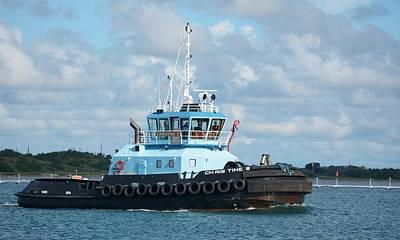 Photograph - Tugboat Christine S by Bradford Martin