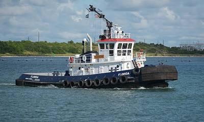Photograph - Tugboat Florida by Bradford Martin