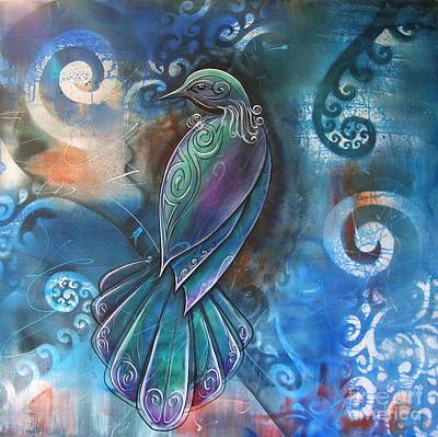 Photograph - Tui 4 by Reina Cottier