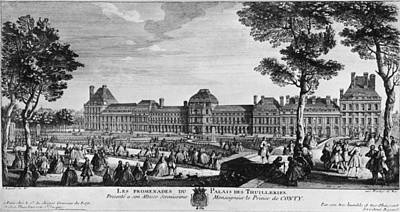 Tuileries Palace Art Print by Hulton Archive