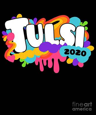 Digital Art - Tulsi Gabbard For President 2020 Retro by Flippin Sweet Gear