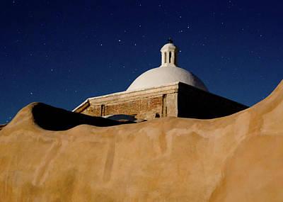 Photograph - Tumacacori Granary Stars by Tom Daniel