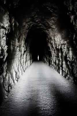 Photograph - Tunel Lumbier by Vicente Guerrero Gimeno